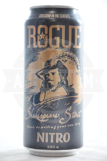 Birra Rogue Shakespeare Oatmeal Stout Nitro Lattina 47.3cl