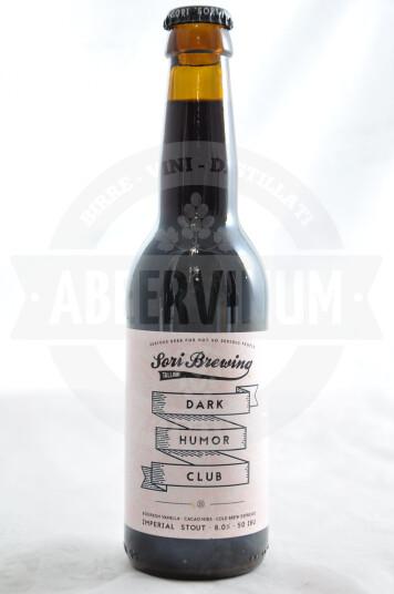 Birra Dark Humor Club Bourbon Vanilla Cacao Nibs Cold Brew Espresso 33cl