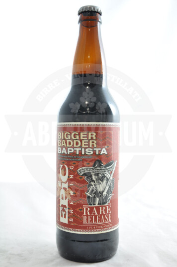 Birra Epic Brewing Bigger Badder Baptista bottiglia 65cl