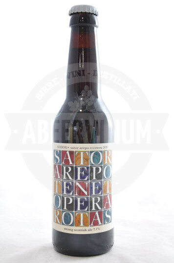 Birra Godog Sator Arepo Eccetera 2020 bottiglia 33cl