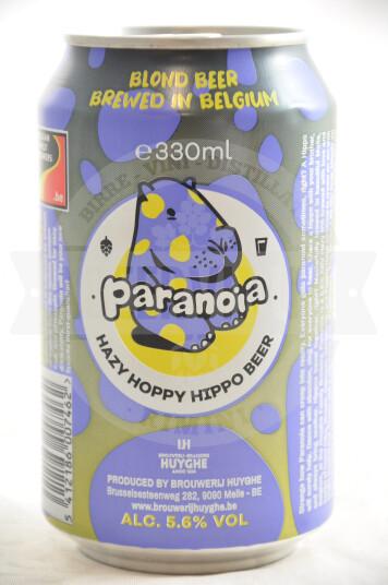Birra Huyghe Paranoia Hazy IPA Lattina 33cl