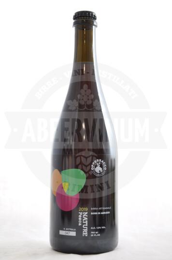 Birra Opperbacco Nature Pesca 2019 bottiglia 75cl