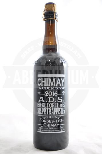 Birra Chimay Grande Rèserve serigrafata 2016 75 cl