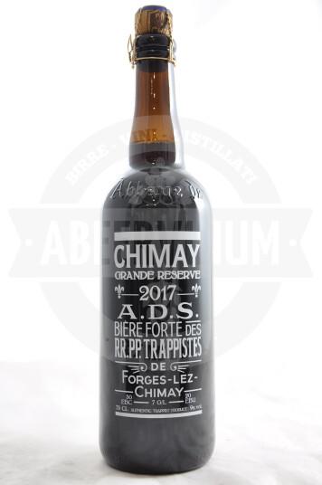 Birra Chimay Grande Rèserve serigrafata 2017 75 cl