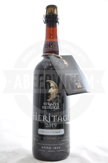 Birra De Halve Maan Straffe Hendrik Heritage 2019 75cl