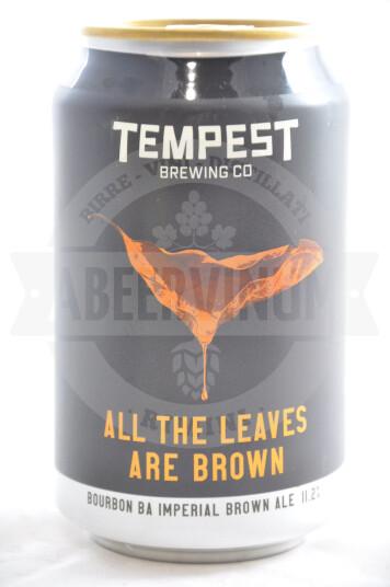 Birra Tempest All the Leaves Are Brown (Heaven Hill Bourbon BA) lattina 33cl