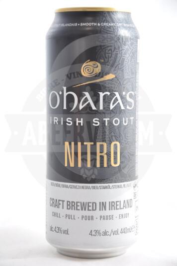 Birra O'Hara's Irish Stout Nitro lattina 44cl