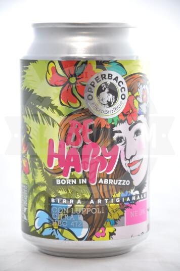 Birra Opperbacco Be Happy lattina 33cl