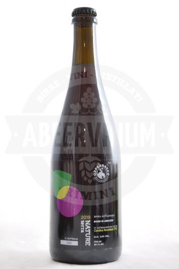 Birra Opperbacco Nature Terra Uve Cantina Recchiuti 2019 bottiglia 75cl