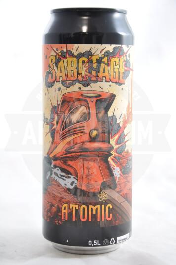 Birra Sabotage Atomic lattina 50cl