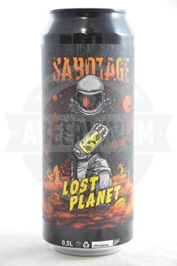 Birra Sabotage Lost Planet lattina 50cl