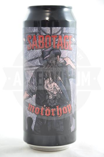 Birra Sabotage Motorhop lattina 50cl