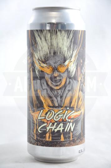 Birra Selfmade Logic Chain NEIIPA lattina 50cl