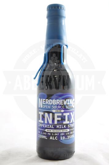 Birra Nerdbrewing Infix Imperial Milk Stout Mocha Macchiato Edition 33cl