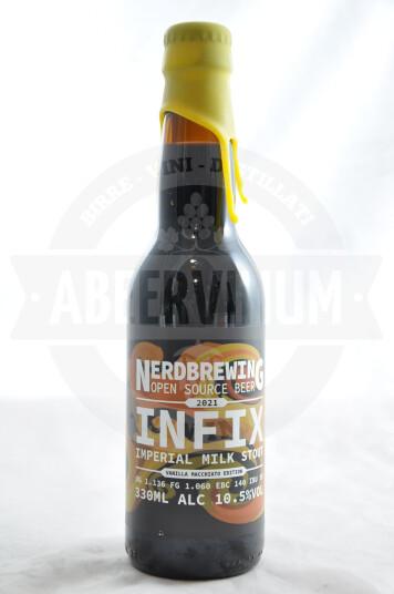 Birra Nerdbrewing Infix Imperial Milk Stout - Vanilla Macchiato Edition 33cl