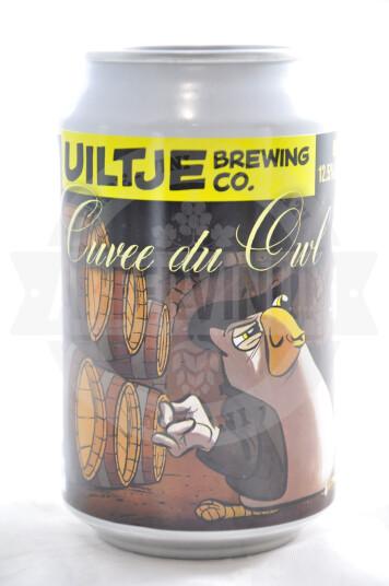Birra Uiltje Cuvée Du Owl lattina 33cl