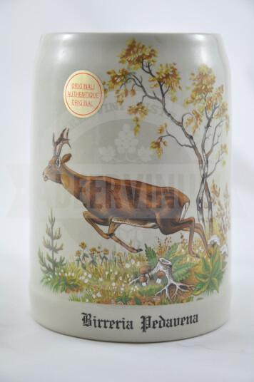 Boccale Birra Pedavena Ceramica