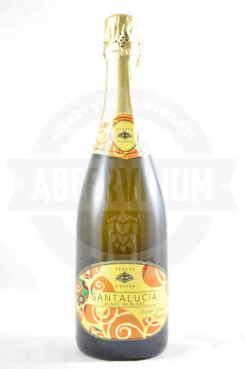 Vino Metodo Classico Santa Lucia Blanc de Blanc Brut - Tenuta Santa Lucia