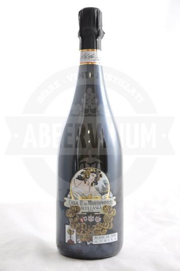 Vino Alta Langa DOCG Brut Blanc de Noir 2015 Metodo Classico - Casa E. di Mirafiore