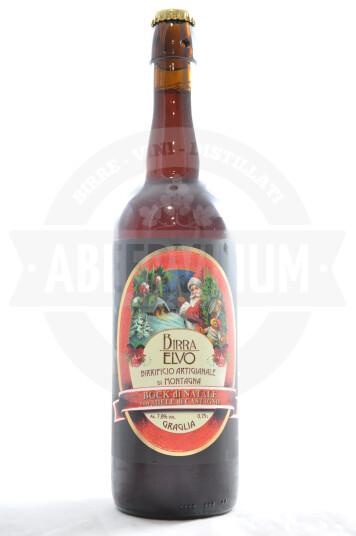 Birra Birra Elvo Bock di Natale bottiglia 75cl