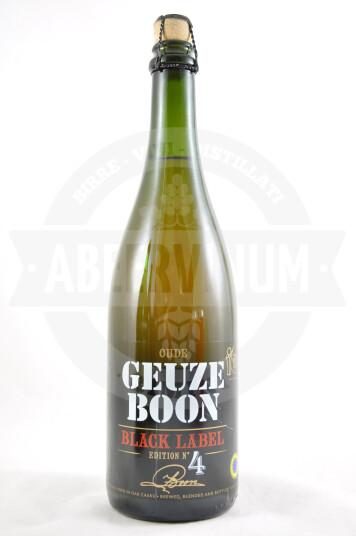 Birra Boon Oude Geuze Black Label 75cl
