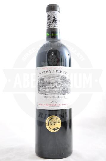 Vino Francese Chateau Pierrail Bordeaux Supérieur 2016 - Chateau Pierrail