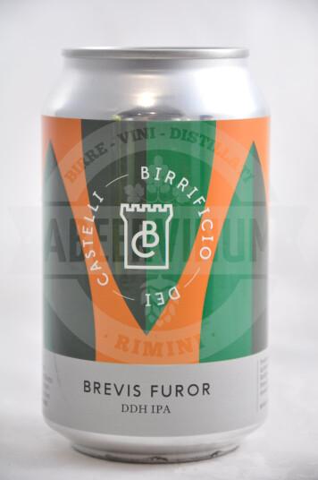 Birra Birrificio Dei Castello Brevis Furor lattina 33cl