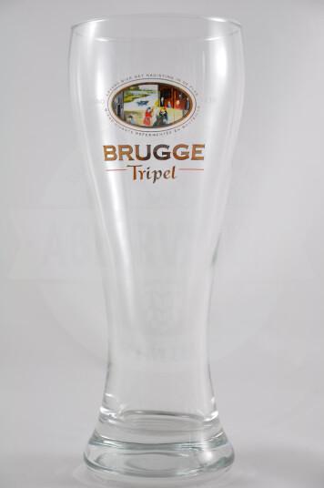 Bicchiere birra Brugge Triple
