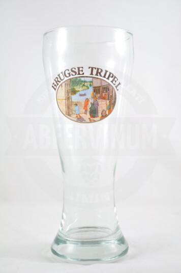 Bicchiere birra Brugse Tripel