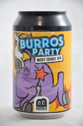Birra Mister B Burro's Party Lattina 33cl