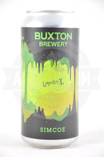Birra Buxton Lupulus X Simcoe IPA lattina 44cl