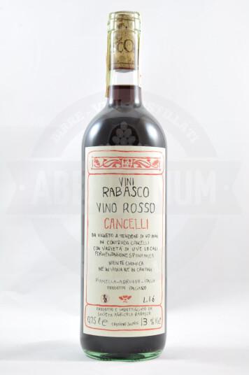 Vino Rosso Cancelli 2016 - Rabasco