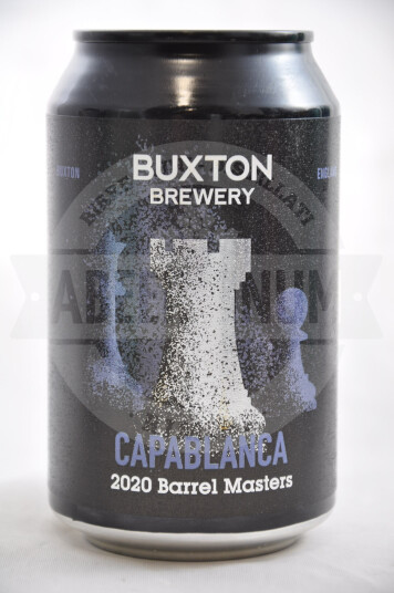 Birra Buxton Capablanca 2020 Barrel Masters lattina 33cl