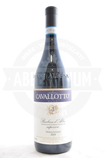 Vino Barbera d'Alba DOC Vigna del Cuculo 2018 - Cavallotto