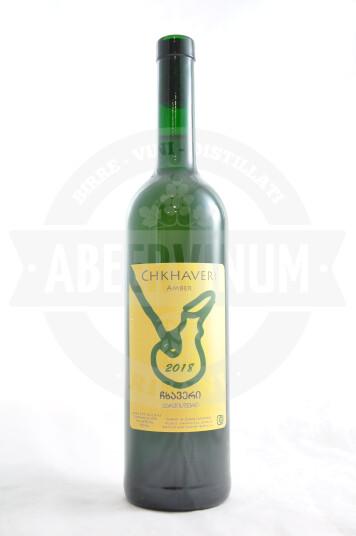 Vino Georgiano Chkhaveri Amber Dry 2018 - Zurab Topuridze