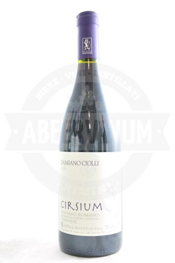 Vino Cesanese di Olevano Romano DOC Cirsium 2016 - Damiano Ciolli