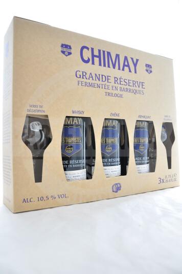 Birra Chimay Grande Rèserve Fermentée en Barrique + 2 Bicchieri Cofanetto Regalo