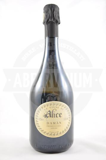 Vino Frizzante Damàn Prosecco DOC Extra Dry Millesimato 2017 - Le Vigne di Alice