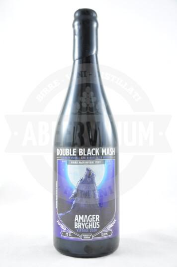 Birra Amager Double Black Mash Bourbon Double Oak Barrel Aged Version 2020 75cl