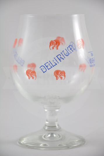Bicchiere birra Delirium Tremens