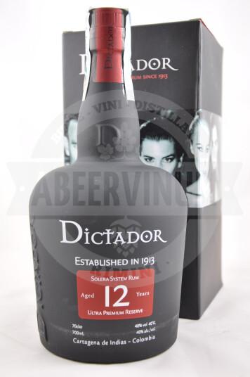 Rum Dictador 12 anni 70cl - Craft Spirits