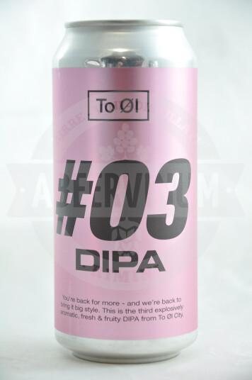 Birra To Øl  #03 DIPA lattina 44cl
