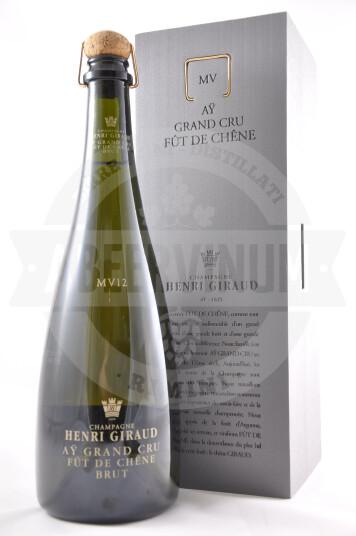 Vino Champagne Brut Grand Cru Fût de Chêne MV12 - Henri Giraud