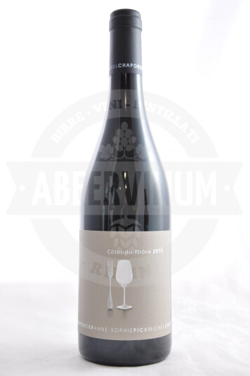 Vino Francese Côtes-du-Rhône 2019 - Anne-Sophie Pic & Michel Chapoutier