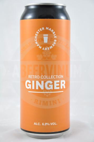 Birra Marble Retro Collection Ginger lattina 50cl