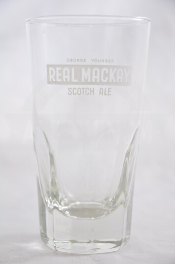 Bicchiere birra Real Mackay 25 cl