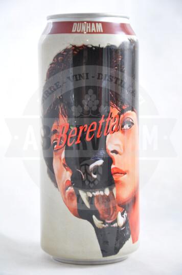 Birra Dunham Beretta lattina 47.3 cl