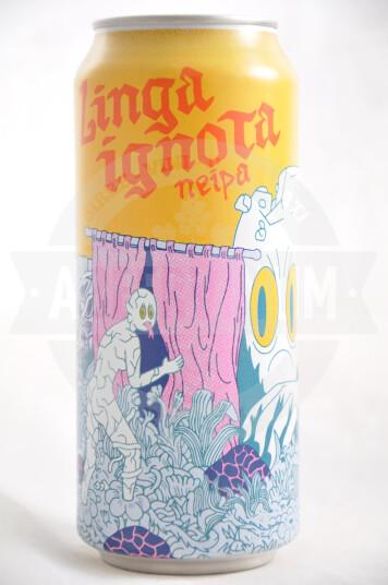 Birra Dunham Lingua Ignota lattina 47.3 cl