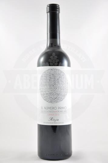 Vino Spagnolo El Nùmero Primo Crianza 2013 Rioja - San Prudencio