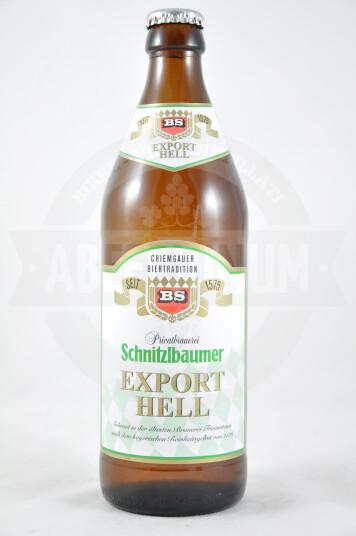 Birra Schnitzlbaumer Export Hell 50cl